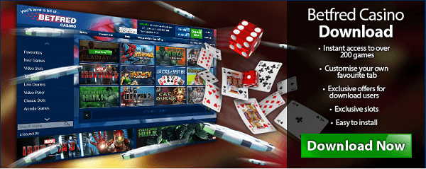 Betfred Casino Download