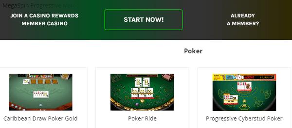 Casino Rewards Games