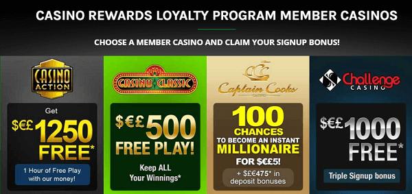 Casino Rewards No Deposit Bonus