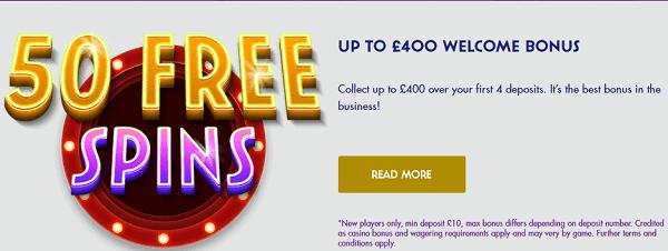 Foxy Casino Bonus