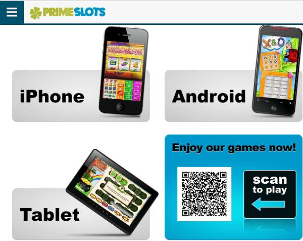 Casino PrimeSlots Mobile App