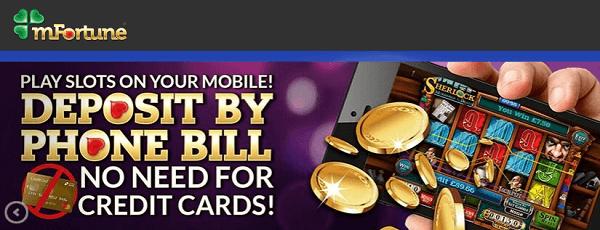 Mobile Casino Deposit By Phone Bill