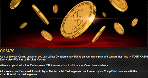 Ladbrokes Casino Rewards