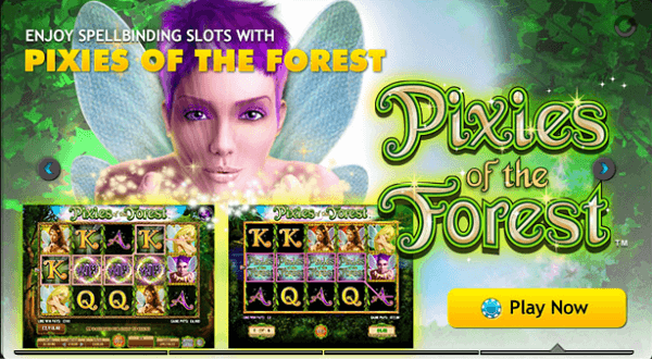 Play Slots Pixies of The Forest