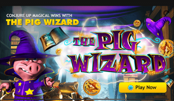 Play Slots The Pig Wizard