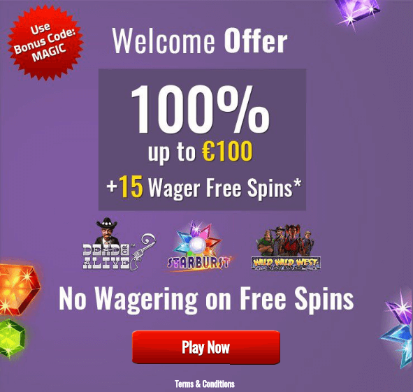 Slots Magic Casino Welcome Offer